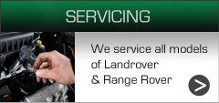 range rover servicing