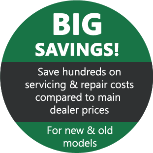 big savings compared to main dealer prices